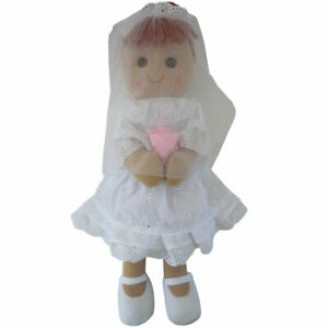 Personalised Powell Craft Bride Rag Doll - Fabric Doll, Child's Gift