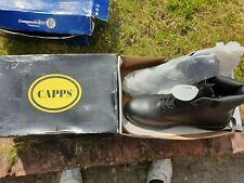 STEAL TOE CAP BOOTS SIZE 11 BLACK