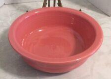 "Fiestaware Serving Bowl Dish Flamingo Pink Fiesta 8 1/4"""