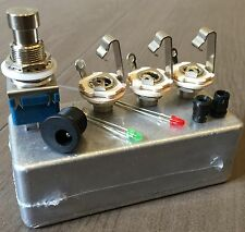 KIT A/B SWITCH BOX (1 IN, 2 OUT) CHITARRA, GUITAR PEDALE CLONE DIY