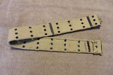 "Scarce Original WW2 Australian Army Marked Khaki Web Gun Belt, 42"" in Length, VG"