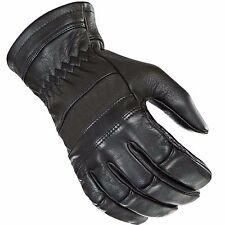 Mens Vintage Motorbike Motorcycle Biker Leather Gloves Waterproof Protection