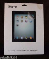iHome Anti-Scratch Screen Shield Protector for iPad 2 & New iPad IH-IP2200