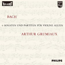 Arthur Grumiaux-Bach : Sonata & Partitas For Solo Violin 180g 3LP Box Set LP New