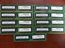 Lot of 9 M393B1K70CH0-YH9 8GB 2Rx4 PC3L-10600R Memory