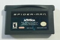 2002 Nintendo Game Boy Advance Activision Spider-Man Game Cartridge TESTED A+