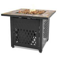 Endless Summer Decorative Slate Tile Mantel LP Gas Outdoor Fire Pit (Used)