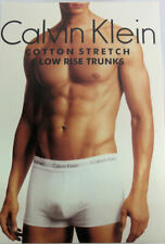 Boxer Calvin Klein pack de 3 unidades blancos con cintura en color talla L