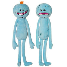 NEW Rick And Morty Adult Swim Stuffed Plush Happy+Sad Face Mr Meeseeks 2pcs Gift