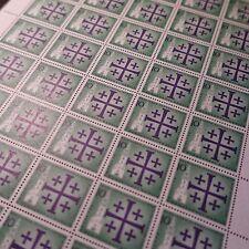 feuille sheet Bogen Deutschland berlin Nr.193 x50 1961 neuf luxe mnh