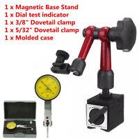 Adjustable Magnetic Base Holder With Stand + Digital Level Dial Test Indicator