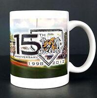 Batavia Muckdogs 15th Anniversary 1998-2012 Collectible Baseball Coffee Cup Mug