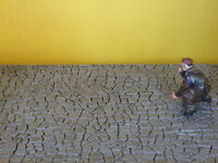 Pavimento in lastricato per modellismo 1:35  cm.20,5X12,5 - Krea 3210