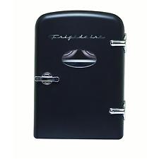 Frigidaire EFMIS129  6 Can Mini Retro Metro Refrigerator - Black