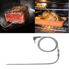 Waterproof Thermometer Probe Replacement fr Digital Cooking BBQ Meat Thermometer