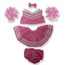 """Pink Cheerleader Outfit für 16 """"/ 40cm Teddybären & Build Your Own Bären"""