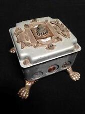 Steam Punk Mucic Box Folk Art Watch Clock Movement Jewelry Box