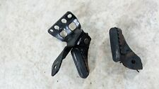 09 BMW G 650 GS G650 G650gs front foot rest pegs right left set