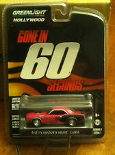 Greenlight  HOLLYWOOD  Gone in 60 Seconds 71' Plymouth Hemi Cuda