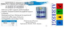 FONDO ALL' ACQUA OPACO PER LEGNO CEMENTITE DA ML. 500 E DA LT. 2,5 BASE D'ACQUA
