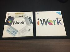 Apple iWork '08 '09 Serial Number Reports Presentations Spreadsheets