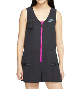 Nike Romper Womens Medium Authentic NWS Sportswear Icon Clash