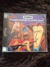 SWINGSATION Tommy Dorsey and Artie Shaw 16 TRACK JAZZ SWING CD ALBUM EXC
