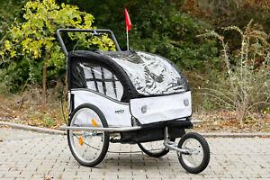 BNO Jogger 2 in 1 Fahrradanhänger Kinderanhänger Fahrrad Anhänger 3 Farben wahl