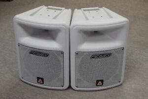 "Peavey Impulse 100 1 X 10"" 2-Way Speaker White PAIR"