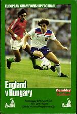 EM-Qualifikation 27.04.1983 England - Ungarn