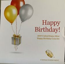 2019 Happy Birthday Coin Set Proof 5 US Coins CN-Clad OGP US Mint