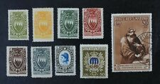 CKStamps: Italy Stamps San Marino Scott#B18-B26 Mint 7H OG #25 Used #26 NH