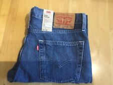 Levis mens 502 32x34 new jeans with the tags 32w 34L