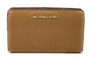 Michael Kors Jet Set Tavel Slim Bifold Leather Wallet
