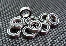 [50 PCS] MR84-2RS (4x8x3 mm) Rubber Sealed Ball Bearing Bearings MR84RS (BLACK)
