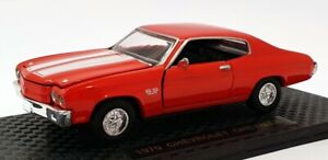 Road Champs 1/43 Scale Diecast RD70 - 1970 Chevrolet Chevelle - Red