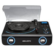 Majestic TT42 BT USB AX - Giradischi 33/45/78 Giri Bluetooth, Display Lcd, Radio