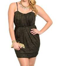 Plus Stretch, Bodycon Little Black Dresses for Women