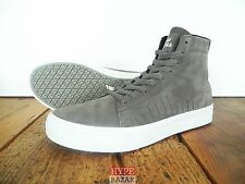SUPRA FOOTWEAR HI-TOP SNEAKER NEU GREY GR: US 9 EUR 42.5 SUPRA SHOES