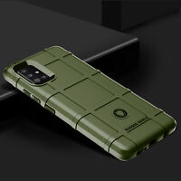 For Samsung Galaxy A51 A71 5G Shockproof Cover Rugged Shield Soft Armor Case