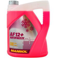 Kühlerfrostschutz Rot G12+ 5L Mannol Antifreeze AF12+ -40°C Kühlmittel VW Audi