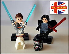 Kylo Ren or Rey Skywalker Jedi Star Wars Mini Figure Lego Compatible -UK Seller!
