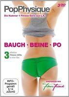 FITNESS FRIENDS - POP PHYSIQUE-BAUCH,BEINE,PO 3 DVD NEUF