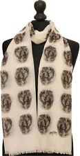 scarf with Chow Chow dogs on womens fashion printed shawl wrap mike sibley