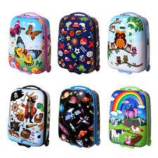 Kinder Handgepäck Hartschalen Mädchen Jungen Reise Koffer Trolley Kinderkoffer