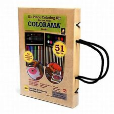 Colorama 51pc Coloring Art Kit AS SEEN ON TV! BRAND NEW!