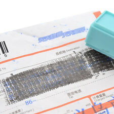 New Security Hide ID Garbled Rubber Stamp Protect Document File Identity Stick