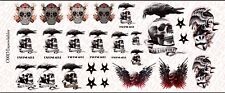 1/6 Scale Expendables Tattoo Decals for 12 inch Figures - Waterslide Decals