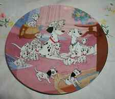 """WATCH DOGS"" PLATE 101 DALMATIANS BRADFORD EXCHANGE"