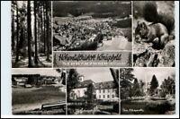 KÖNIGSFELD Schwarzwald ua. Gymnasium Luftbild 50/60er J